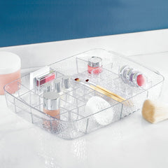 Clear Cosmetic Tray ( 27 compartments )