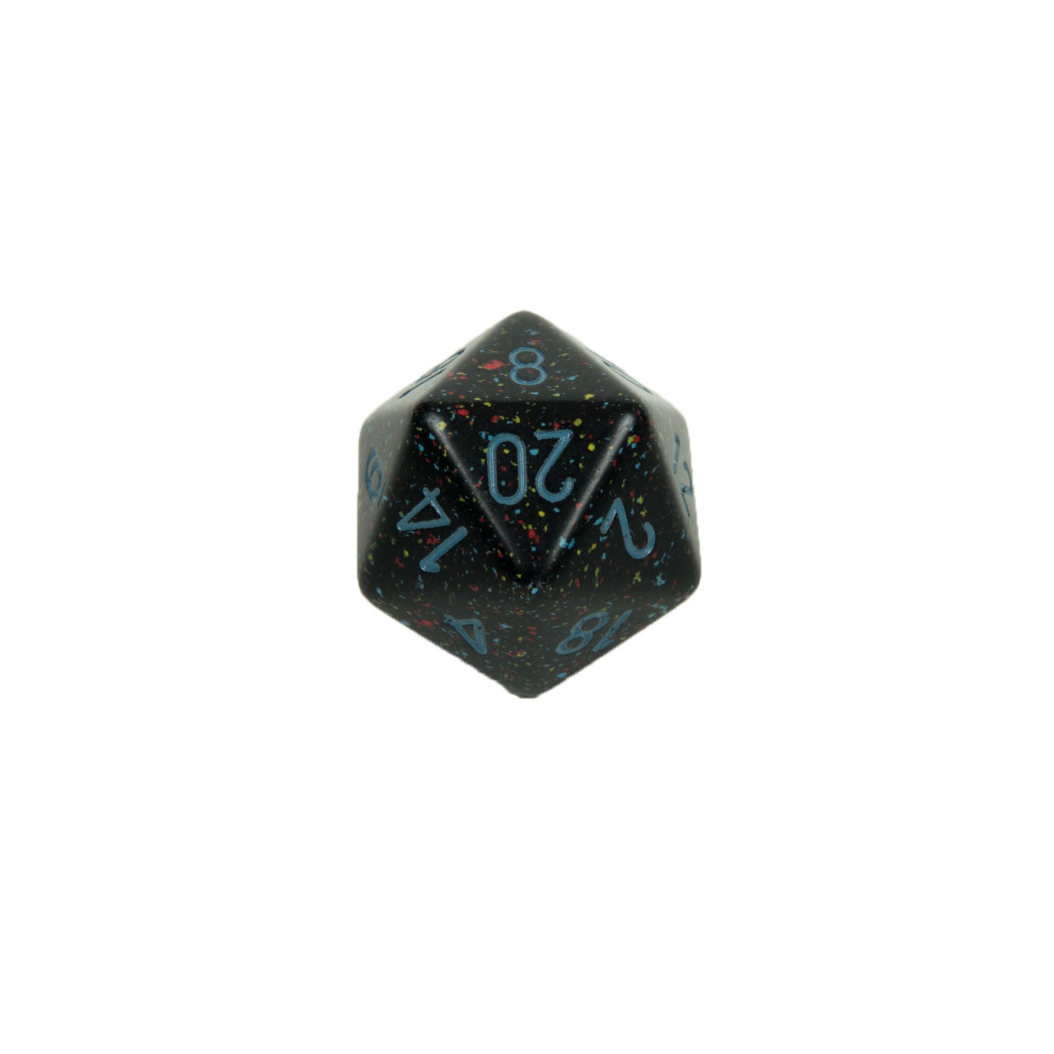 Chessex CHXXS2001 Blue Stars™ Speckled 34mm d20 single