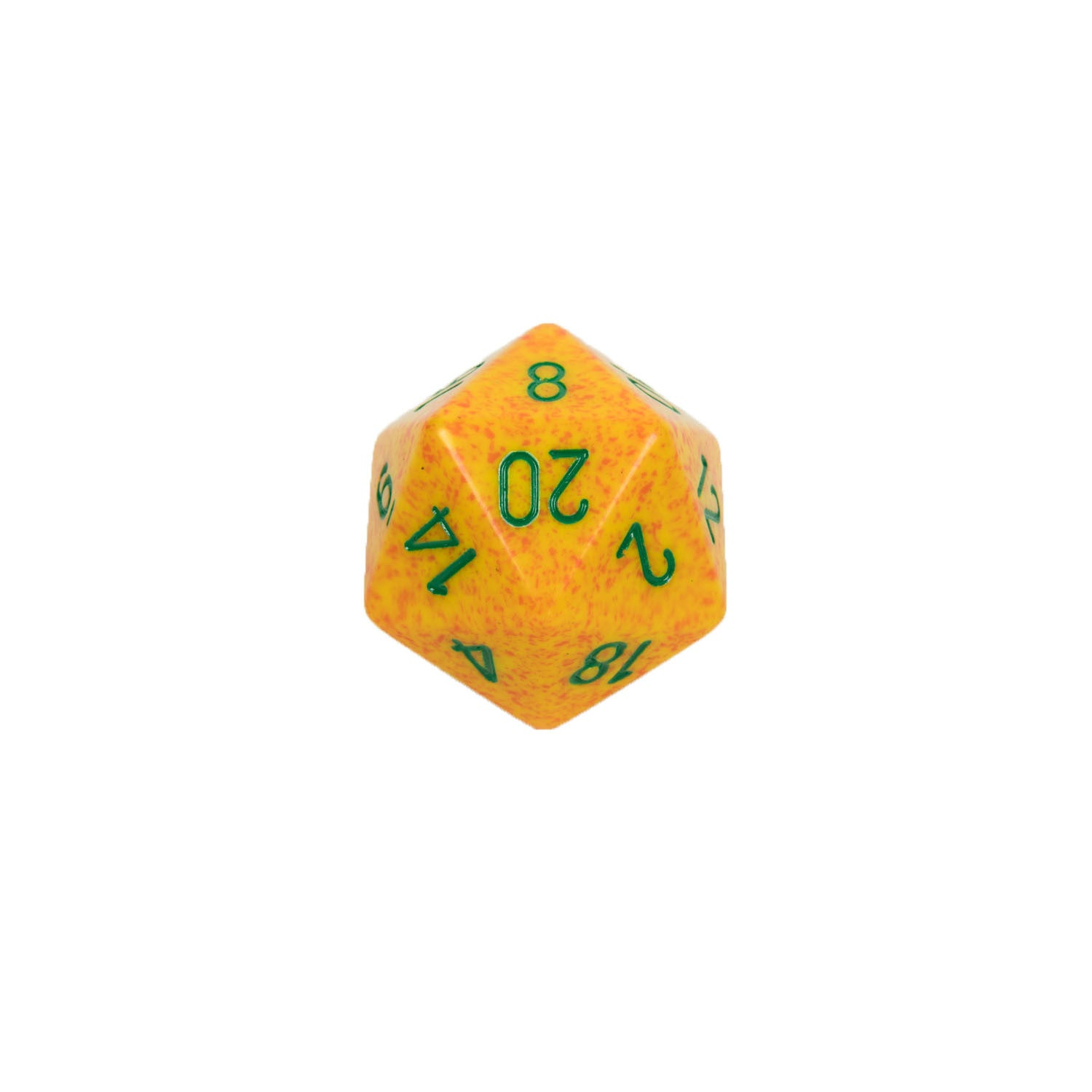 Chessex CHXXS2016 Lotus™ Speckled 34mm d20 single