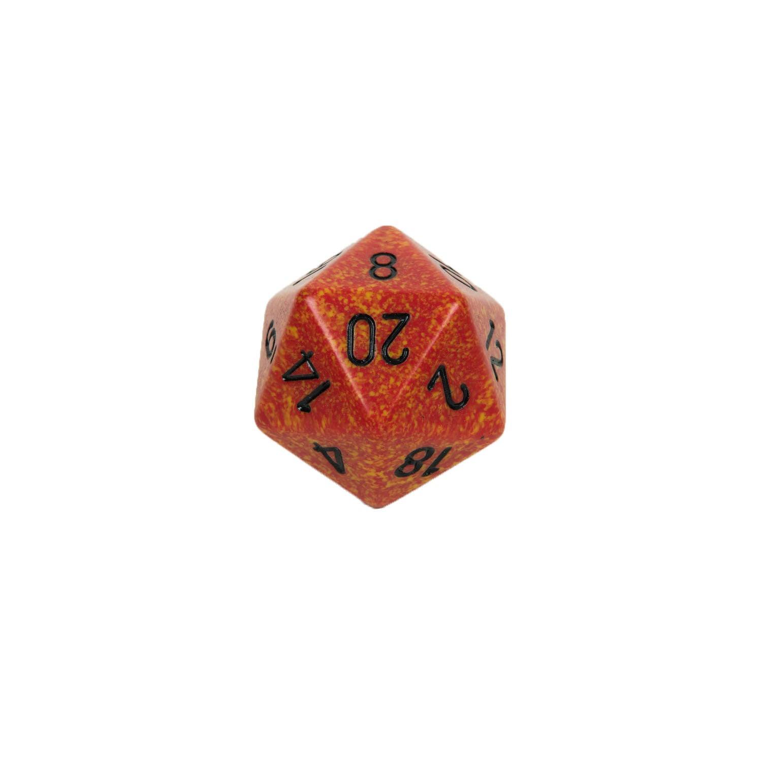 Chessex CHXXS2021 Fire™ Speckled 34mm d20 single