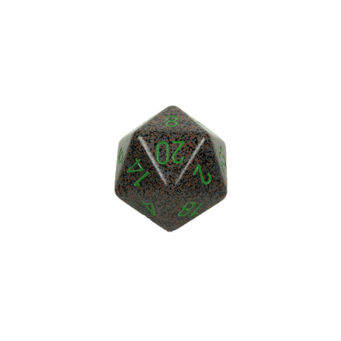 Chessex CHXXS2022 Earth™ Speckled 34mm d20 single