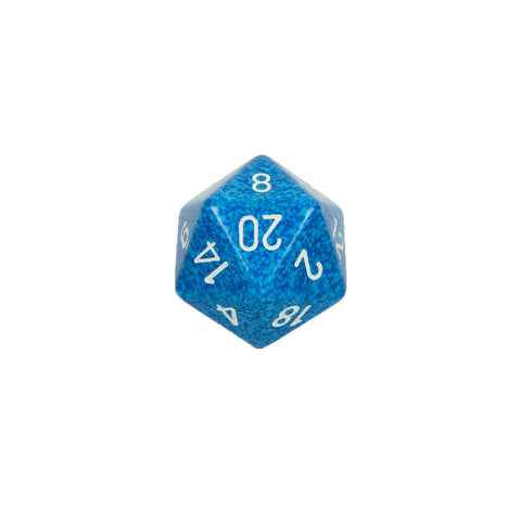 Chessex CHXXS2023 Water™ Speckled 34mm d20 single