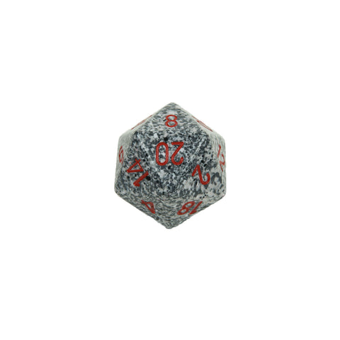 Chessex CHXXS2030 Granite™ Speckled 34mm d20 single