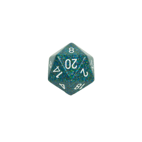 Chessex CHXXS2037 Sea™ Speckled 34mm d20 single
