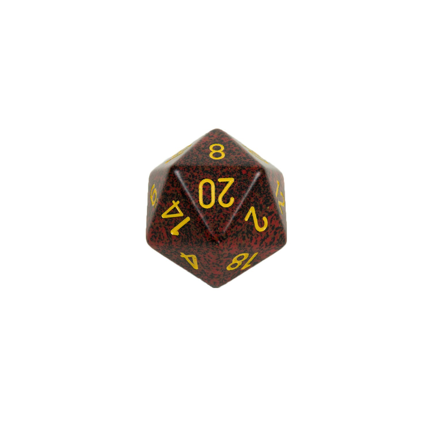 Chessex CHXXS2079 Mercury™ Speckled 34mm d20 single