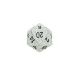 Chessex CHXXS2087 Arctic Camo™ Speckled 34mm d20 single