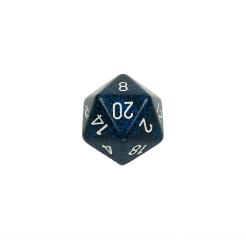 Chessex CHXXS2091 Stealth™ Speckled 34mm d20 single