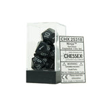 Chessex CHX25318 Ninja™ Speckled Polyhedral Dice Set