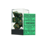 Chessex CHX25335 Golden Recon™ Speckled Polyhedral Dice Set
