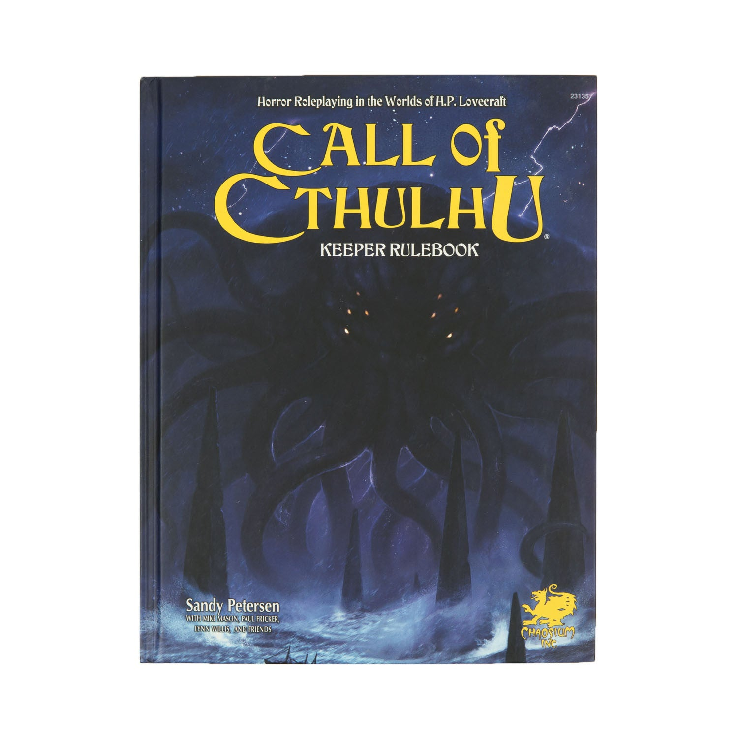 Call of Cthulhu RPG Keeper Rulebook 7th Ed. (Hard Cover)