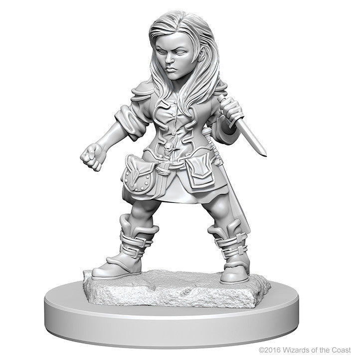 D&D Nolzur's Marvelous Unpainted Minis: 72627 Halfling Female Rogue