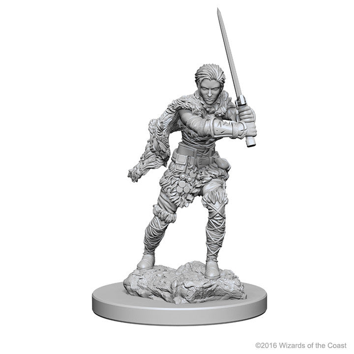 D&D Nolzur's Marvelous Unpainted Minis: 72644 Human Female Barbarian