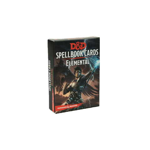 D&D 5e Spellbook Cards Elemental