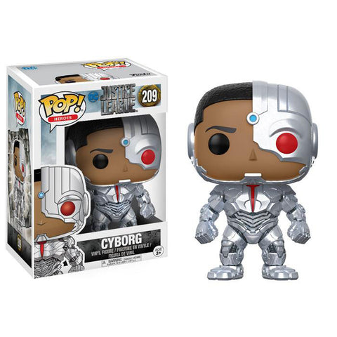 Pop! 13487 DC: Justice League - Cyborg