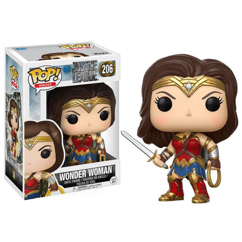 Pop! 13708 DC: Justice League - Wonder Woman