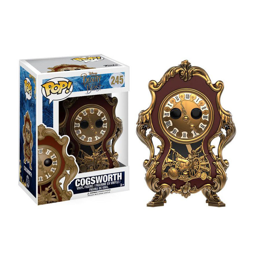 Pop! 12320 Disney: Beauty and the Beast - Cogsworth