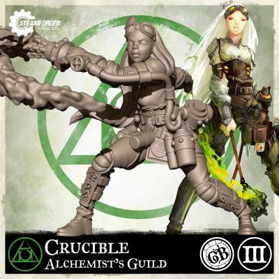 Guild Ball: Alchemist's Guild - Crucible (Season 3)