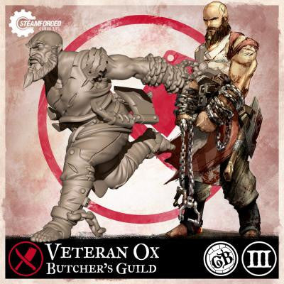 Guild Ball: Butcher's Guild - Veteran Ox (Season 3)