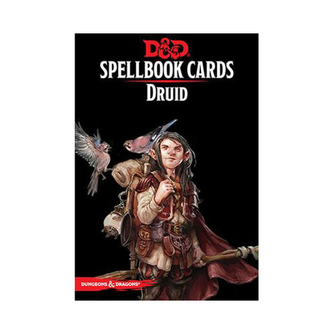 D&D 5th Edition Spellbook Cards - Druid