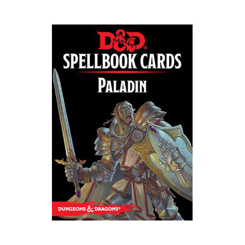 D&D 5th Edition Spellbook Cards - Paladin