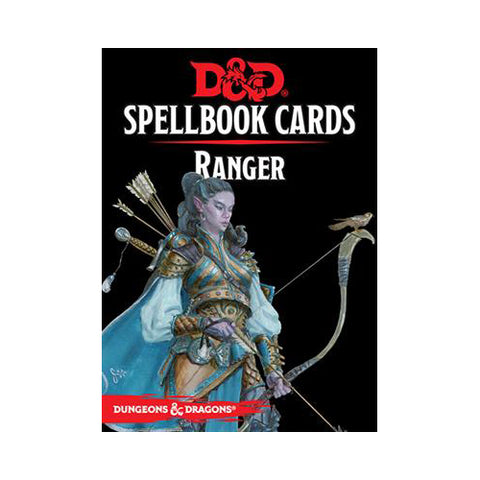D&D 5th Edition Spellbook Cards - Ranger