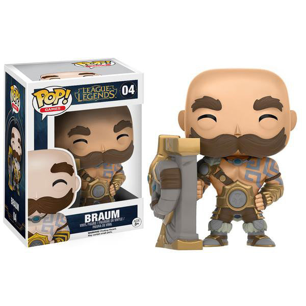 Pop! 10304 League of Legends: Braum