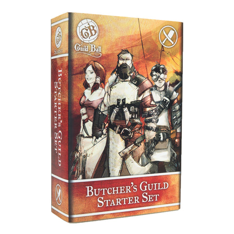 Guild Ball: Butcher's Guild Starter Set