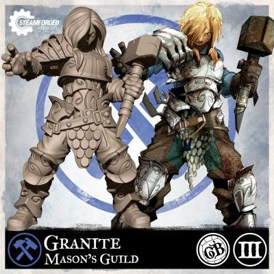 Guild Ball: Mason's Guild - Granite (Season 3)