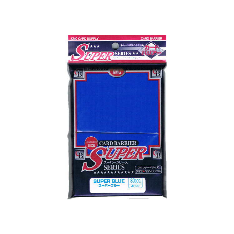 KMC Card Barrier Super Blue (80)
