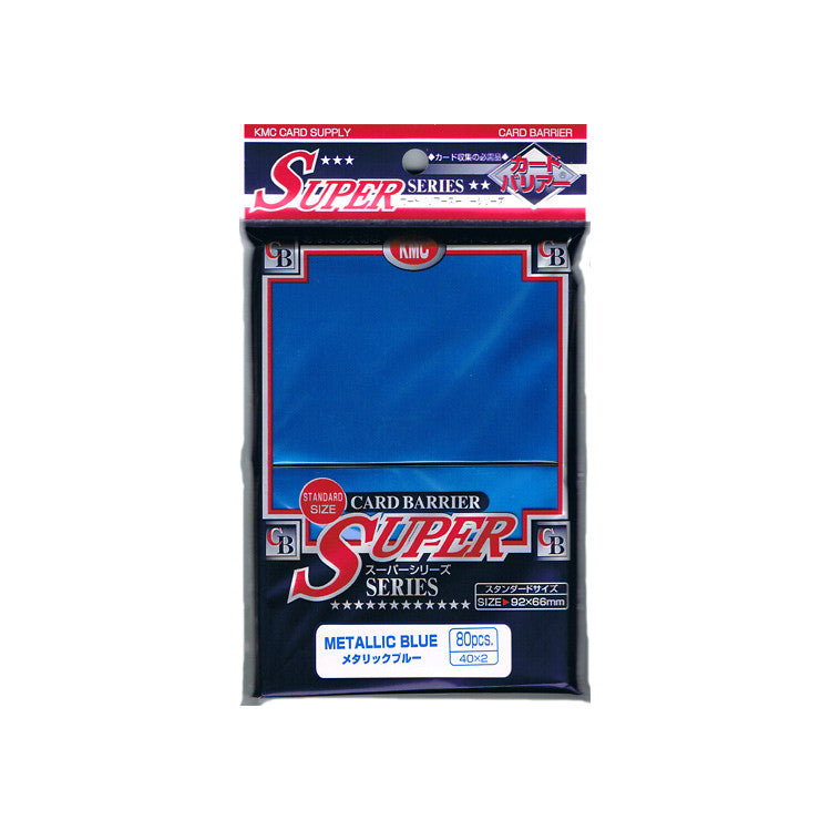 KMC Card Barrier Super Metallic Blue (80)