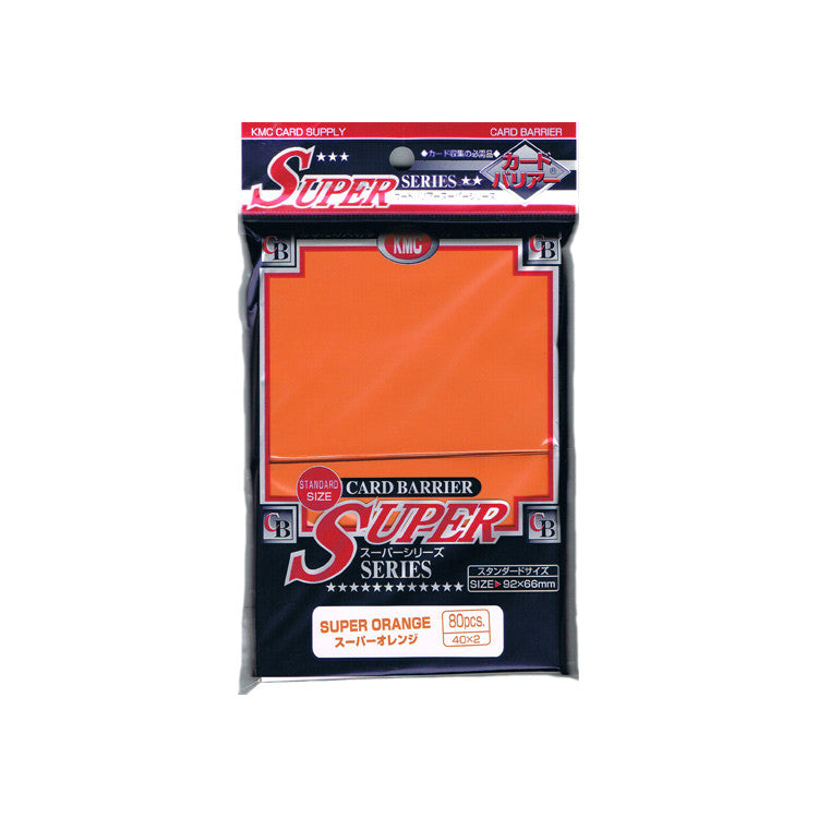 KMC Card Barrier Super Orange (80)
