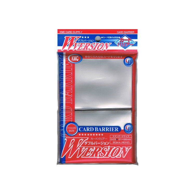KMC Card Barrier W-Version Clear (80)