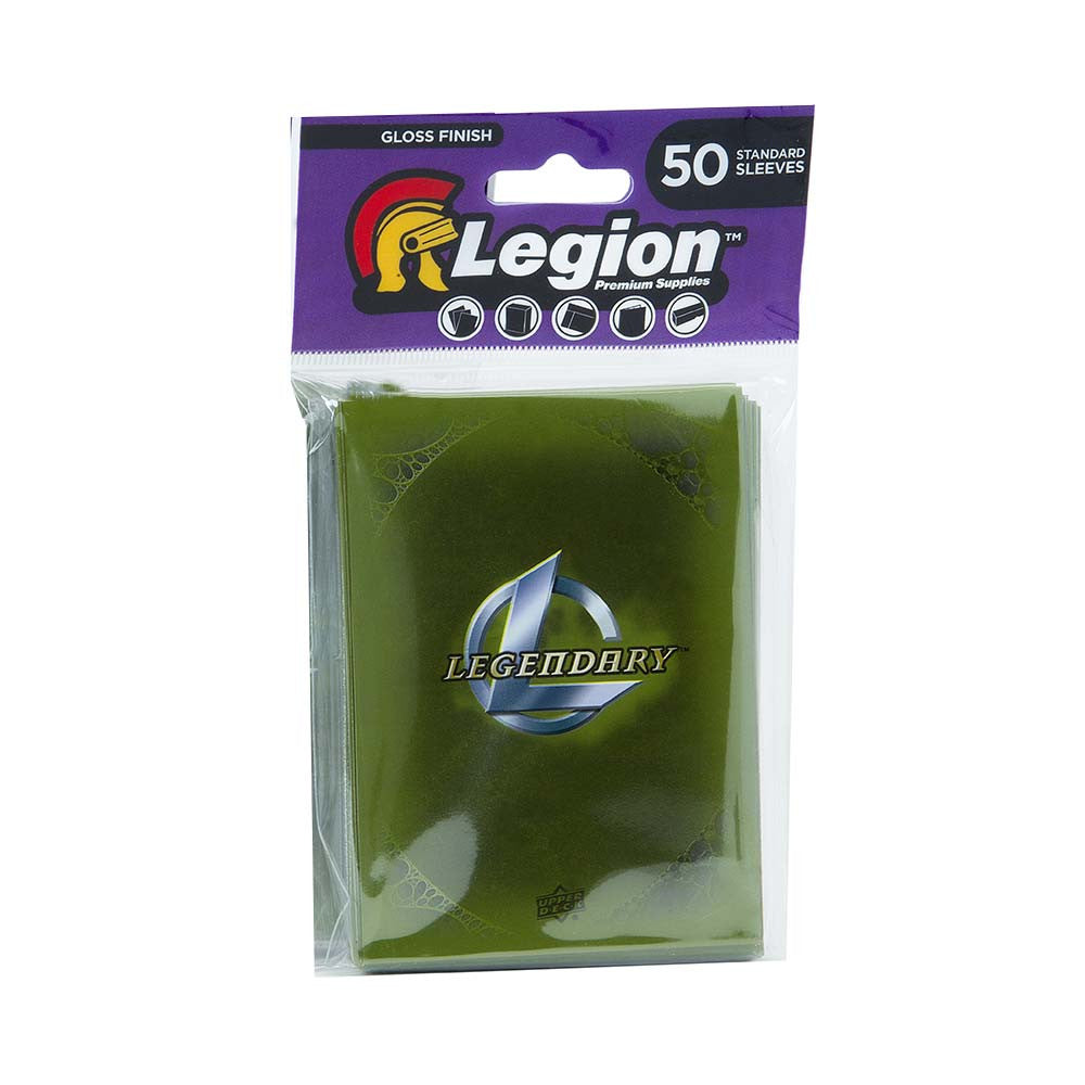 Legendary Encounters Card Sleeves Green (50)