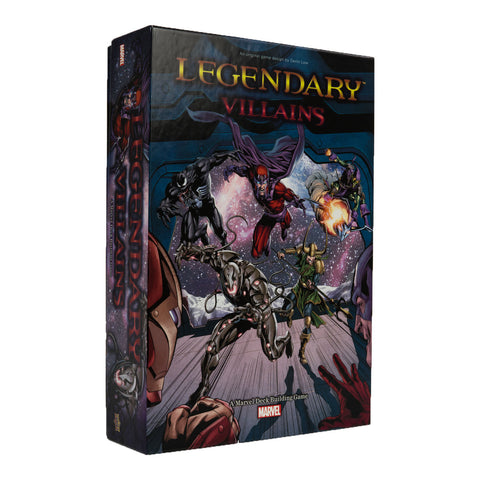 Legendary Villains: A Marvel Deckbuilding Game