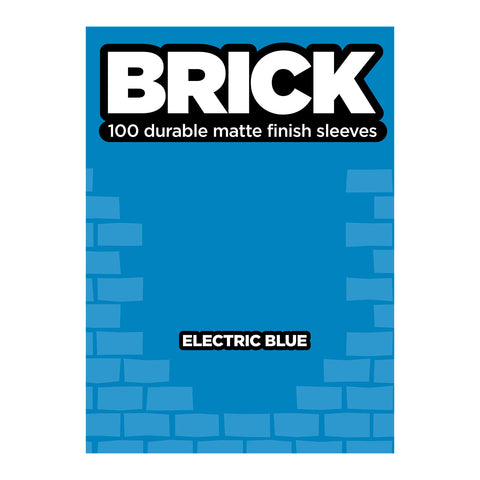 Legion: Brick - Electric Blue Matte Card Sleeves (100)
