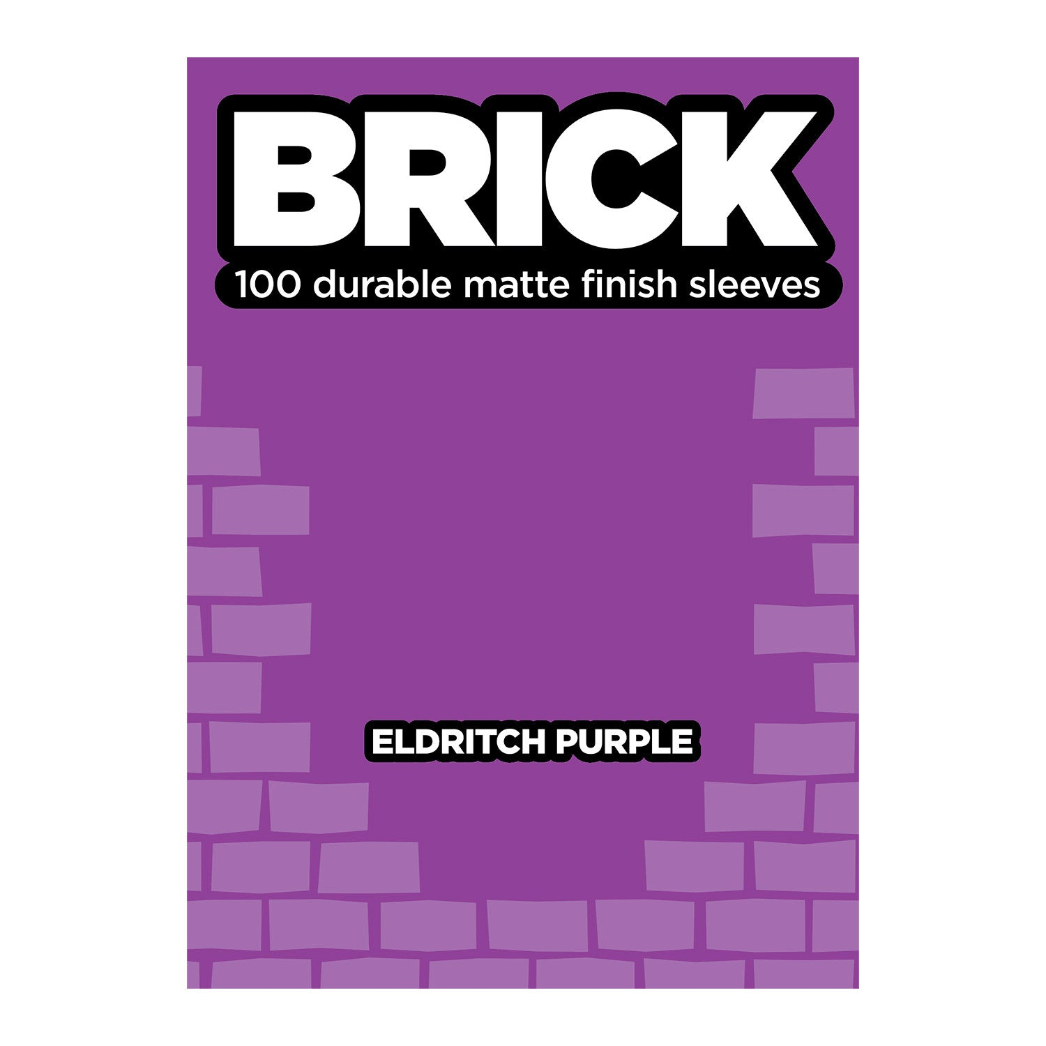 Legion: Brick - Eldritch Purple Matte Card Sleeves (100)