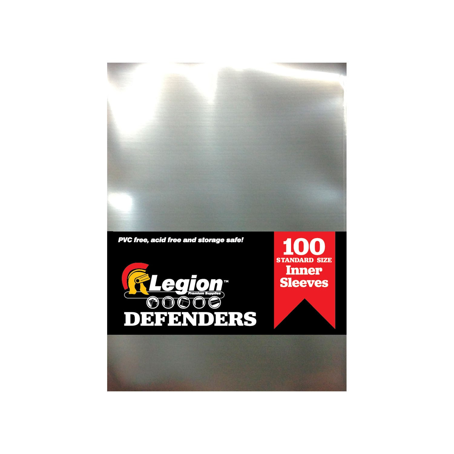 Legion: Defenders - Inner Sleeve Standard Card Sleeves Clear (100)