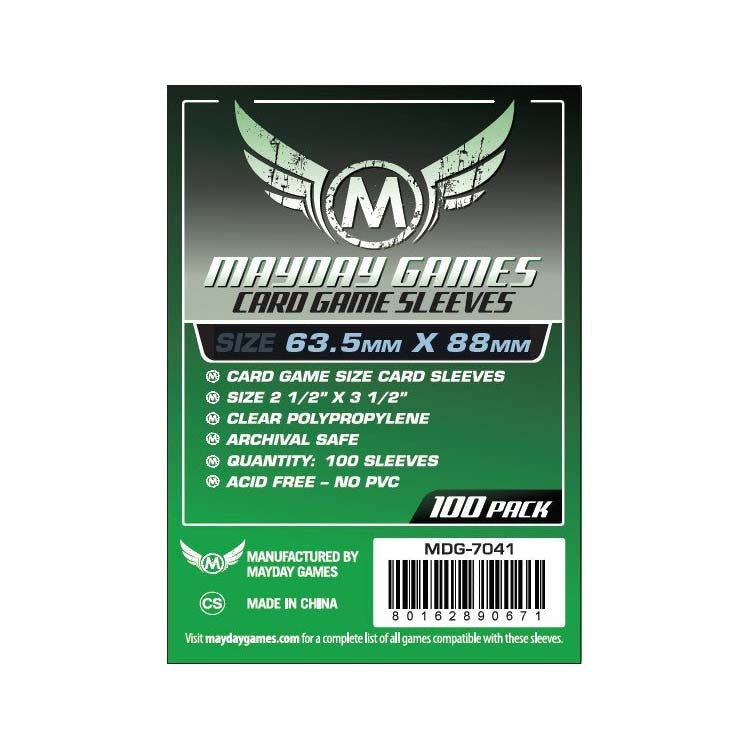 Mayday MDG-7041 Card Game Sleeves (100)