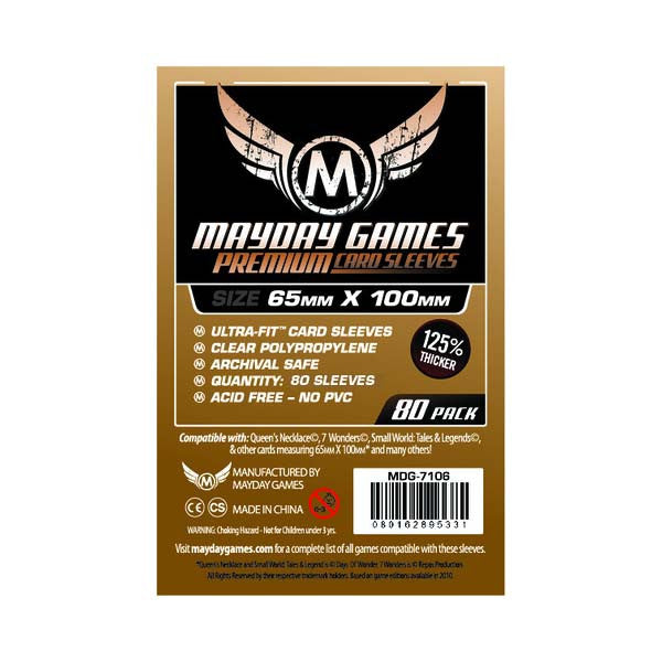 Mayday MDG-7106 7 Wonders Premium Card Sleeves (80)