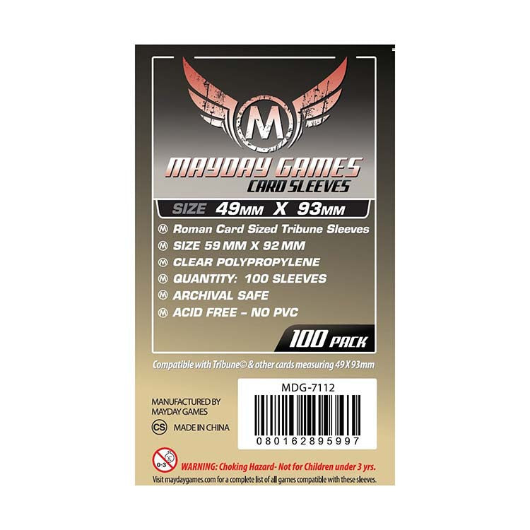 Mayday MDG-7112 Roman Tribune Card Sleeves (100)