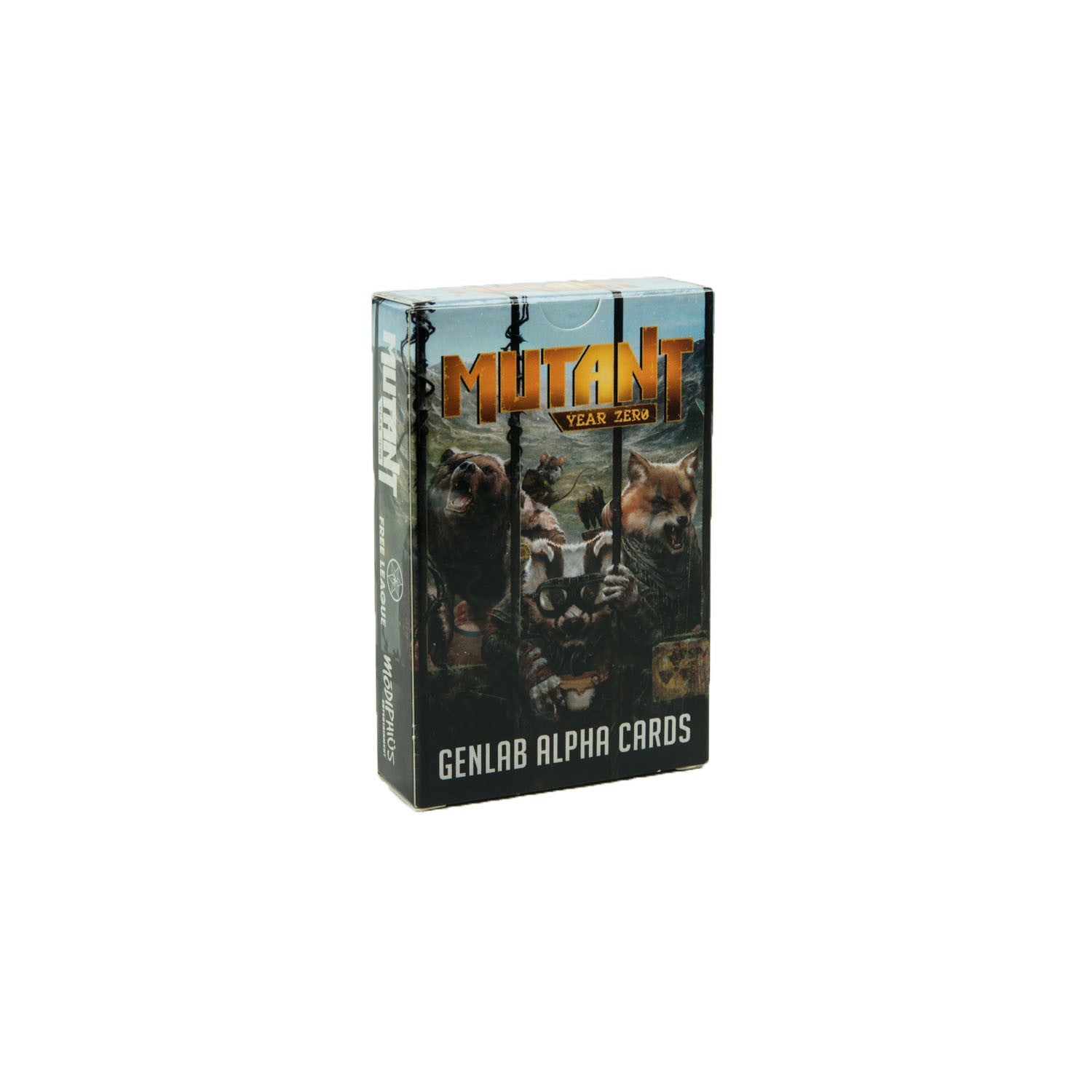 Mutant: Year Zero: Genlab Alpha Deck