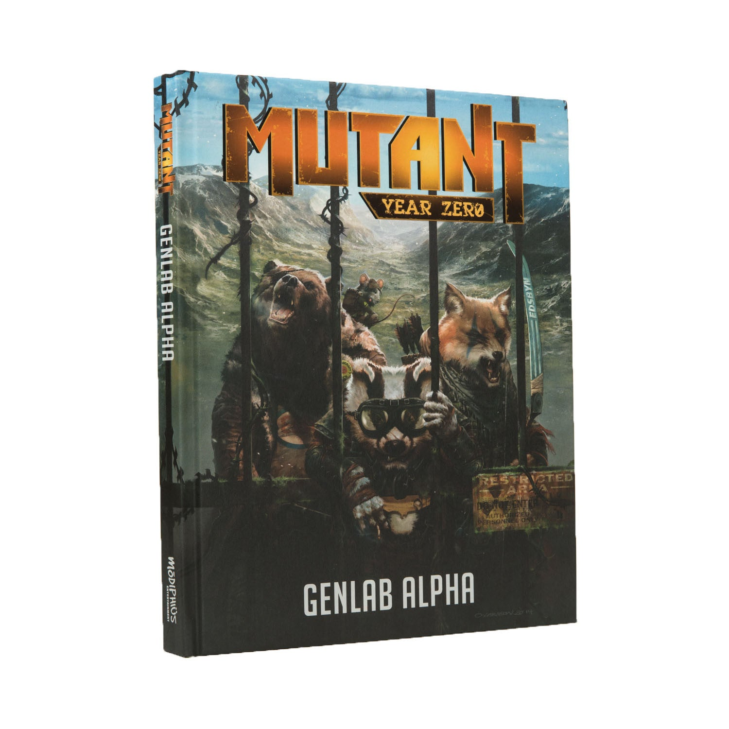 Mutant: Year Zero: Genlab Alpha Rulebook