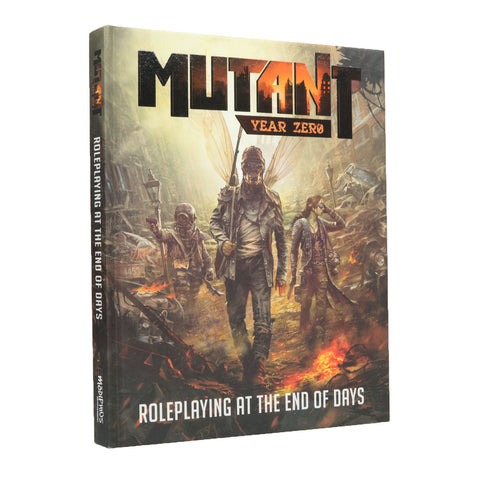 Mutant: Year Zero Roleplaying Game Core Rulebook (Hard Cover)