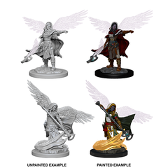 D&D Nolzur's Marvelous Unpainted Minis: 73197 Aasimar Female Wizard