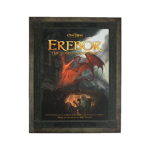 The One Ring RPG: Erebor The Lonely Mountain (Hard Cover)
