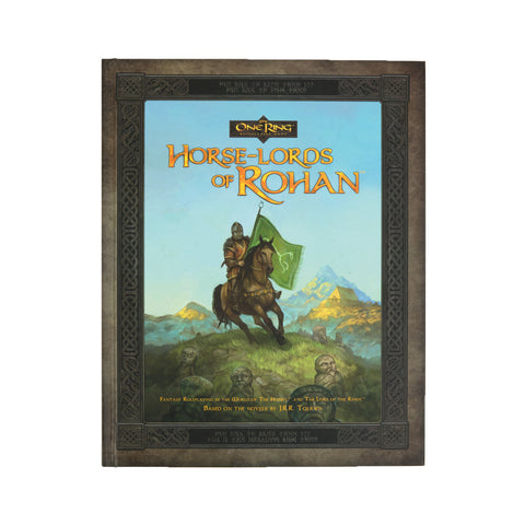 The One Ring RPG: Horse Lords of Rohan (Hard Cover)