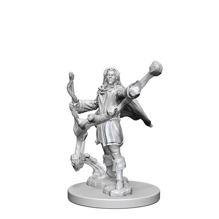 Pathfinder Deep Cuts™ Unpainted Miniatures: 72605 Elf Male Sorcerer