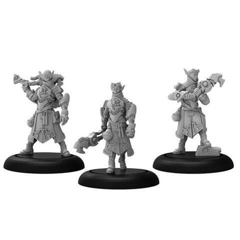 Warmachine: Retribution of Scyrah - House Shyeel Arcanists (3)