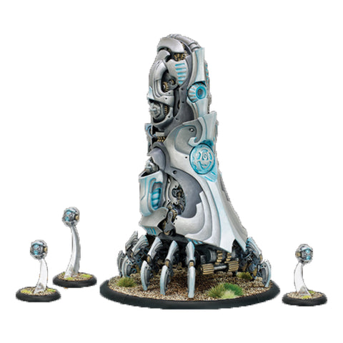 Warmachine: Convergence of Cyriss - Transfinite Emergence Projector and Permutation Servitors (4)