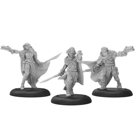 Warmachine: Mercenaries - Thorn Gun Mages (3)